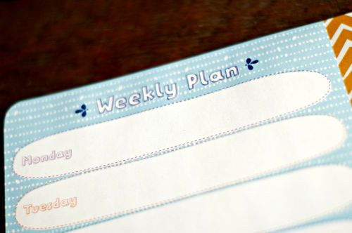 Weekly Meal Planning Accountability -working together! #mealplan