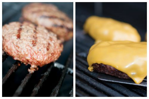 Grilled Cheeseburger Post Collage