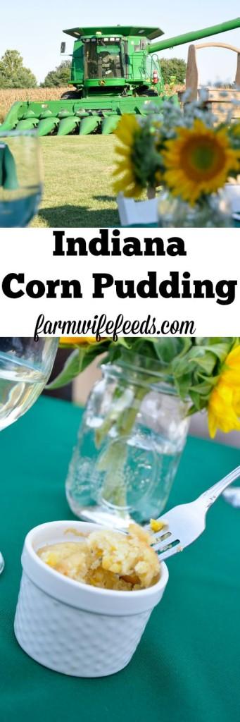 Indiana Corn Pudding- perfectly savory and sweet!