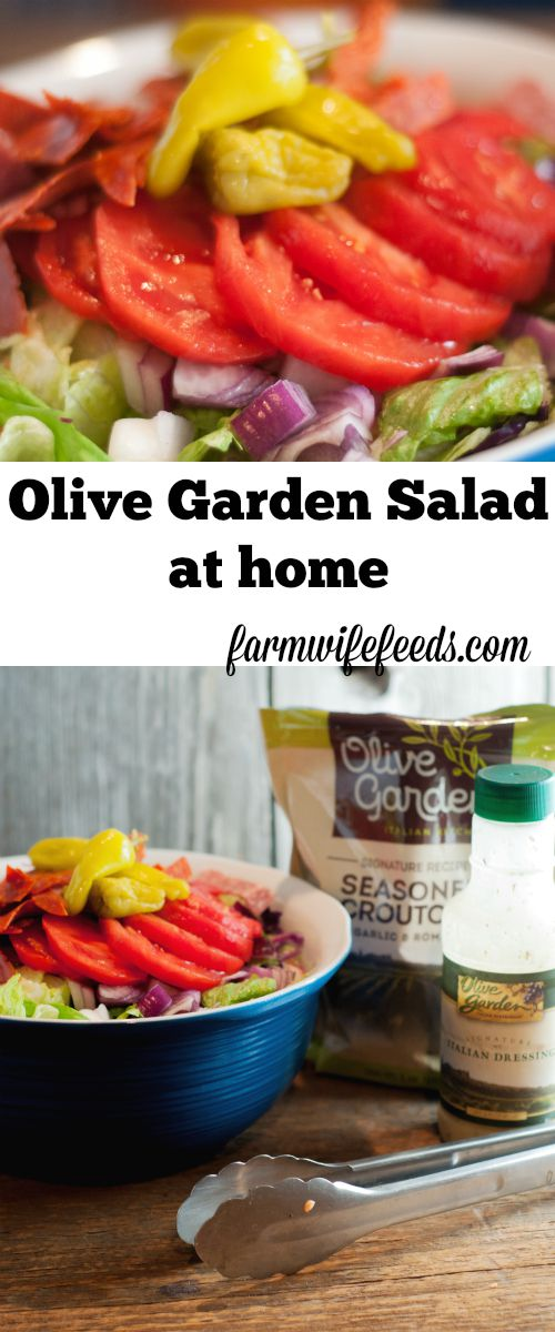 Olive Garden Salad At Home The Farmwife Feeds