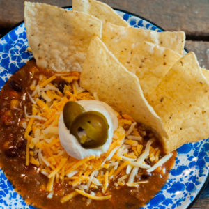 Beef Taco Soup, stovetop or crockpot a super easy go to meal.