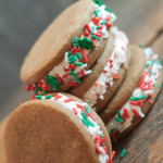 Gingerbread Sandwich Cookies