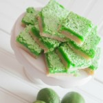 Fresh Squeezed Lime Bars