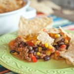 Tortilla Chip Taco Bake