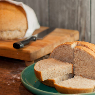 Honey Wheat Oat Bread