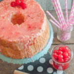 Maraschino Cherry Angel Food Cake