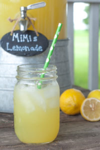 MiMi's Lemonade from Farmwife Feeds is an easy to make 3 ingredient full of flavor summers favorite drink everyone will love. #lemonade #drink