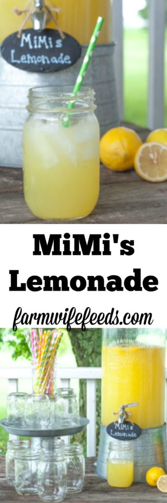 This delicious lemonade is made with Country Time and a couple extra add in's to make it the best lemonade in the world!