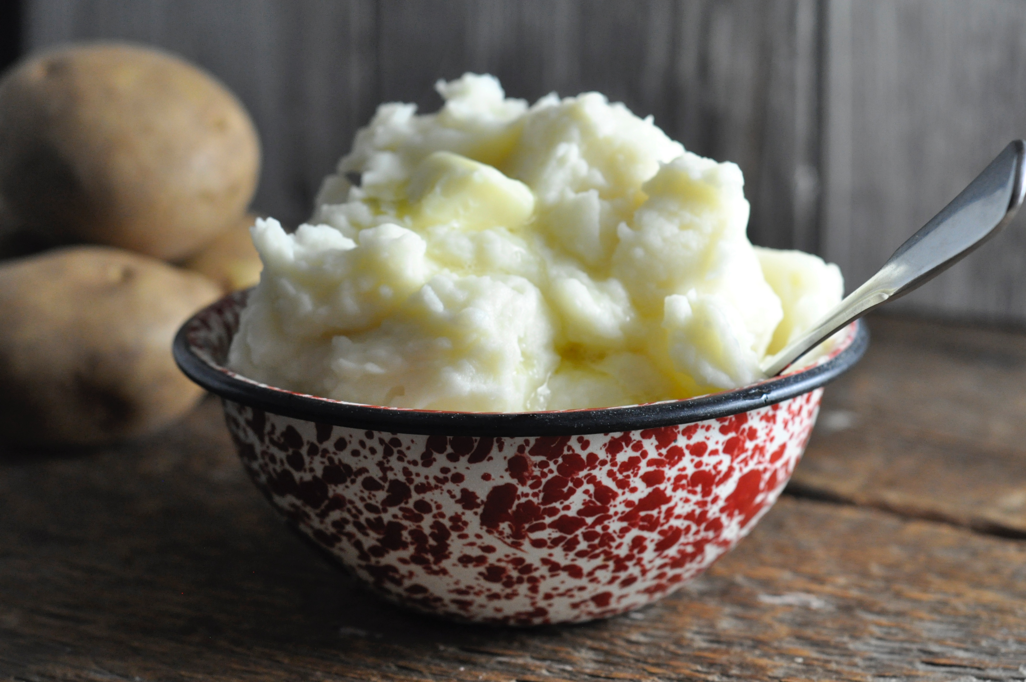 This recipe for Old Fashioned Mashed Potatoes are super simple, easy and homemade.