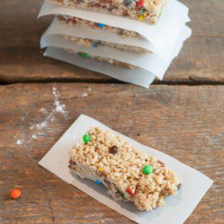 Crispy Chewy Granola Bars