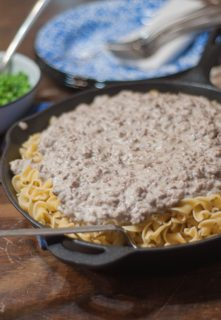 Easy Hamburger Stroganoff is an easy supper recipe that you most likely have the ingredients on hand for!