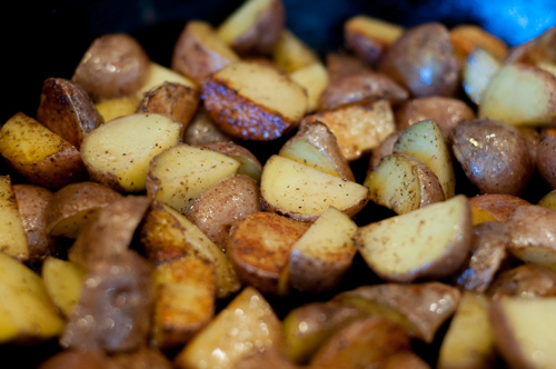 Pan Fried Baby Potatoes are a super easy to prepare side dish that compliments any meat and completes your meal!