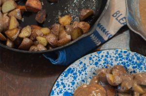 Pan Fried Baby Potatoes