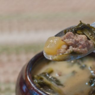 Tuscan Sausage and Kale Soup