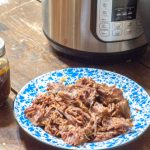 Instant Pot Freezer Meal Shredded Beef