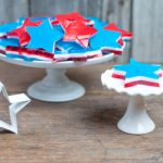 Red, White and Blue Finger Jello Stars