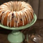 Glazed Fresh Berry Coffee Cake