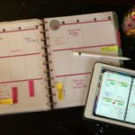 Post It Flags Meal Planning