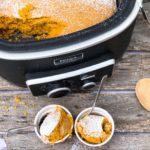 Crock Pot Pumpkin Apple Spoon Cake