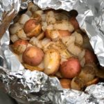 Foil Packet Potatoes and Onions