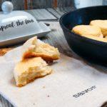 Homemade 2 Ingredient Buttermilk Biscuits