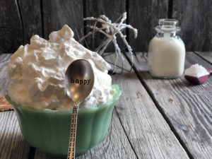 Homemade Whipped Cream from Farmwife Feeds is 3 simple ingredients to top off any sweet! #whippedcream #dairy #simple