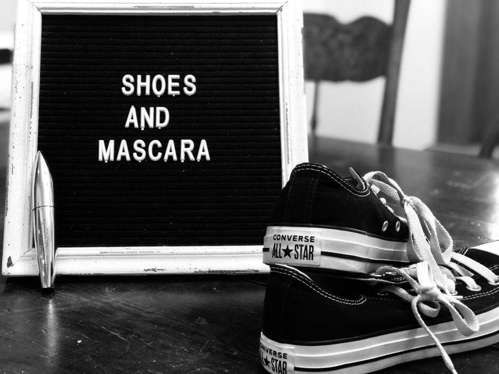 Find what motivates you, for me it's shoes and mascara. #motivation