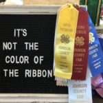 It's Not The Color Of The Ribbon