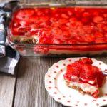 Strawberry Pretzel Salad