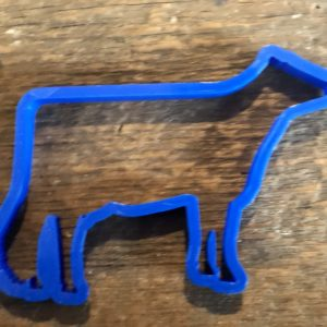 Dairy Cow Cookie Cutter