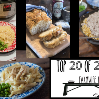 The Top 20 Recipes of 2020 from Farmwife Feeds