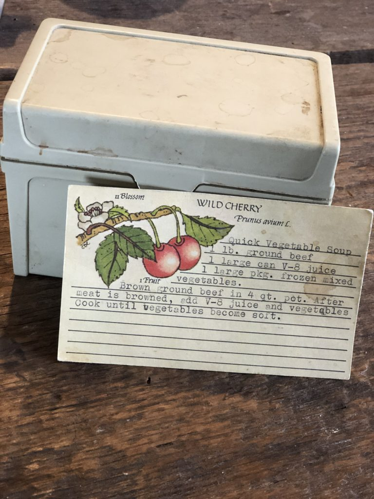 Grandmothers Recipe Box